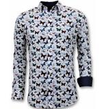 Tony Backer Hippe overhemden digitale print