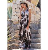 Chic by Lirette Maxi jurk Samoa Bruin