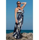 Chic by Lirette Maxi jurk Samoa - Blauw