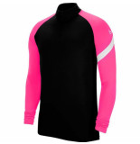 Nike Dri-fit academy drill top kids black hyper pink