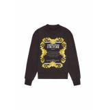 Versace Jeans Sweater etichetta print