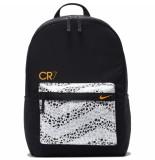Nike Cr7 rugzak black white orange