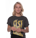 Colourful Rebel 9335 cest chic boxy t-shirt black -