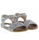 Clic! Meisjesschoenen van type sandalen en slippers grass pony blanco van leer