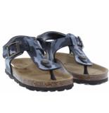 Kipling Jongensschoenen van type sandalen en slippers gubbi 2 dk grey van leer
