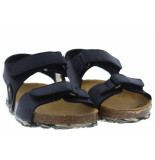 Develab Jongensschoenen van type sandalen en slippers 48163 928 black van leer