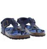 Kipling Jongensschoenen van type sandalen en slippers ganzo 2 navy van leer