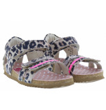 Shoesme Meisjesschoenen van type sandalen en slippers bi9s080-a leopardo van