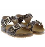 Develab Meisjesschoenen van type sandalen en slippers 48186 359 gold van leer