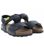 Kipling Jongensschoenen van type sandalen en slippers guy dk grey van leer