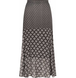 Tramontana Skirt print blacks