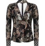Tramontana Jacket print blacks