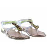 Gioseppo Meisjesschoenen van type sandalen en slippers 58891 blanco van leer