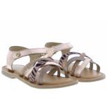Gioseppo Meisjesschoenen van type sandalen en slippers 93007 cobre van leer