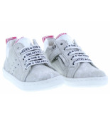 Shoesme Meisjesschoenen van type veterschoenen ur20s017-f white van leer