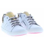 Shoesme Meisjesschoenen van type veterschoenen ur20s017-e white gold van leer