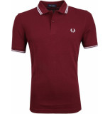 Fred Perry Twin tipped polo 122 port -