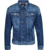 G-Star 3301 slim jacket faded stone elto stretch