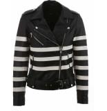 Y.A.S Yasmonja ls biker jacket leather black