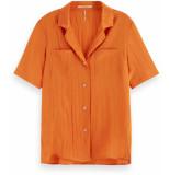 Maison Scotch Short sleeve hawaiian shirt