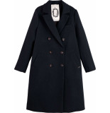 Maison Scotch Double breasted tailored coat in wo night