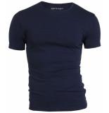 Garage Basis t-shirt ronde hals bodyfit blauw