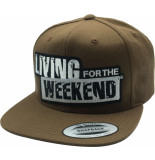 Living for the Weekend Classic snapback tan 253