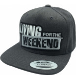 Living for the Weekend Classic snapback dark grey 230