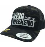 Living for the Weekend Retro trucker multicam black 281