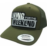 Living for the Weekend Retro trucker buck 217