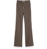 Maison Scotch Striped flare pants