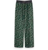 Maison Scotch Pants with sporty elastic waistband