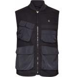G-Star Utility vest black canvas