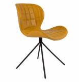 Zuiver Chair omg ll, geel set 2 stuks