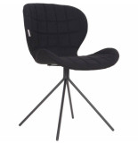 Zuiver Chair omg, black set