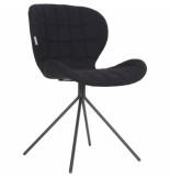 Zuiver Chair omg, black set