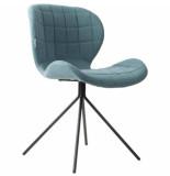 Zuiver Chair omg, blue set 2 stuks