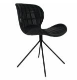 Zuiver Chair omg ll,black set 2 stuks