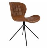 Zuiver Chair omg ll,brown set 2 stuks