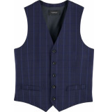 Scotch & Soda Classic yarn-dyed structured gilet combo a