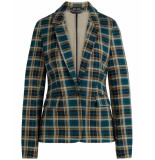 King Louie Blazer 04400 daisy rodeo check