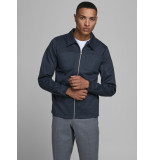 Jack & Jones 12179856 sweat jacket phil grey melange jack jones