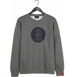 Antwrp Sweater med grey chine