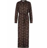 Freebird Paisley-vis-03 maxi dress short sleeve vikas ls black