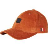 Les Deux Piece corduroy basball cap rusty brown