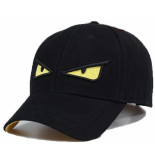 Enos Baseball cap geborduurd yellow eye