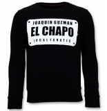 Local Fanatic Sweater joaquin guzman el chapo