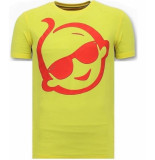 Local Fanatic T-shirt met print zsal met sunglass