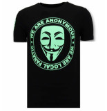 Local Fanatic T-shirt we are anonymous
