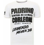 Local Fanatic T-shirt padrino corleone